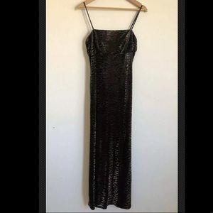Arianna By Rachel Kaye Sleeveless Velvet Dress 12P